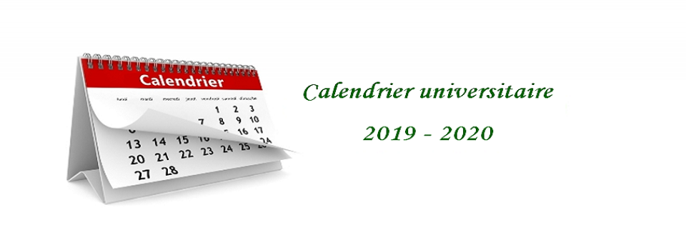 Calendrier 2019 Png.Academic Calendar For The Academic Year 2019 2020